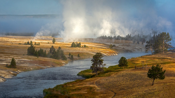 Firehole River, Yellowstone NP, Wyoming