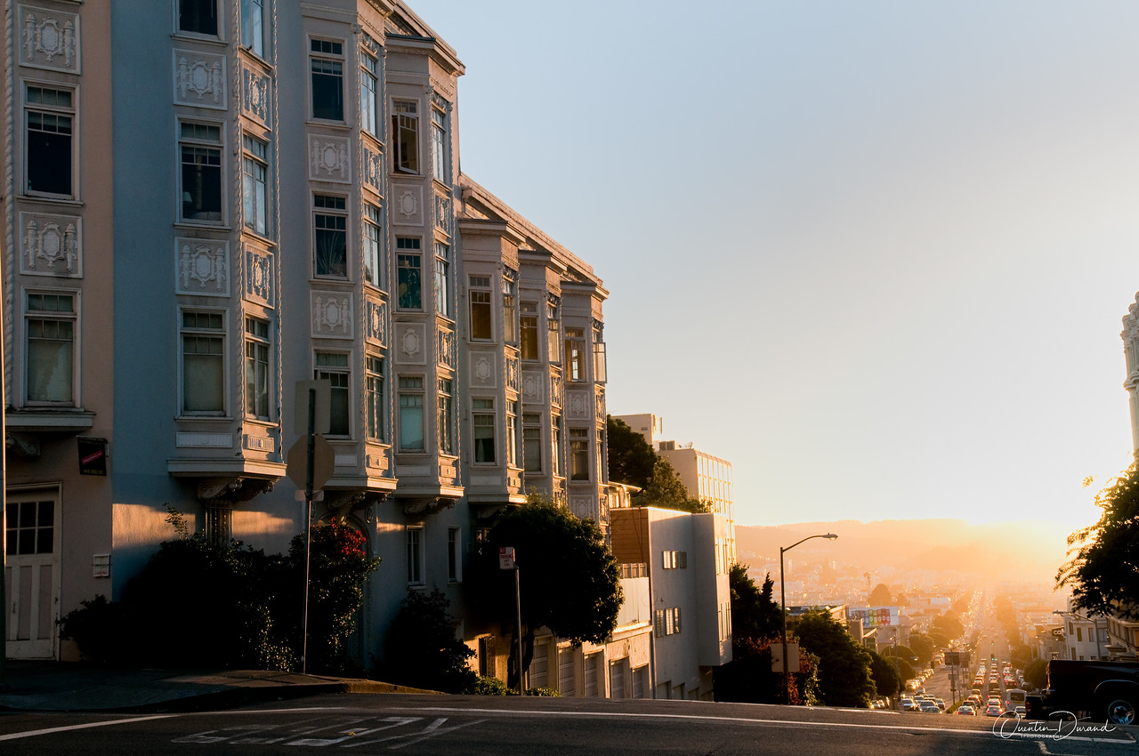 San Francisco CA, lombart Street