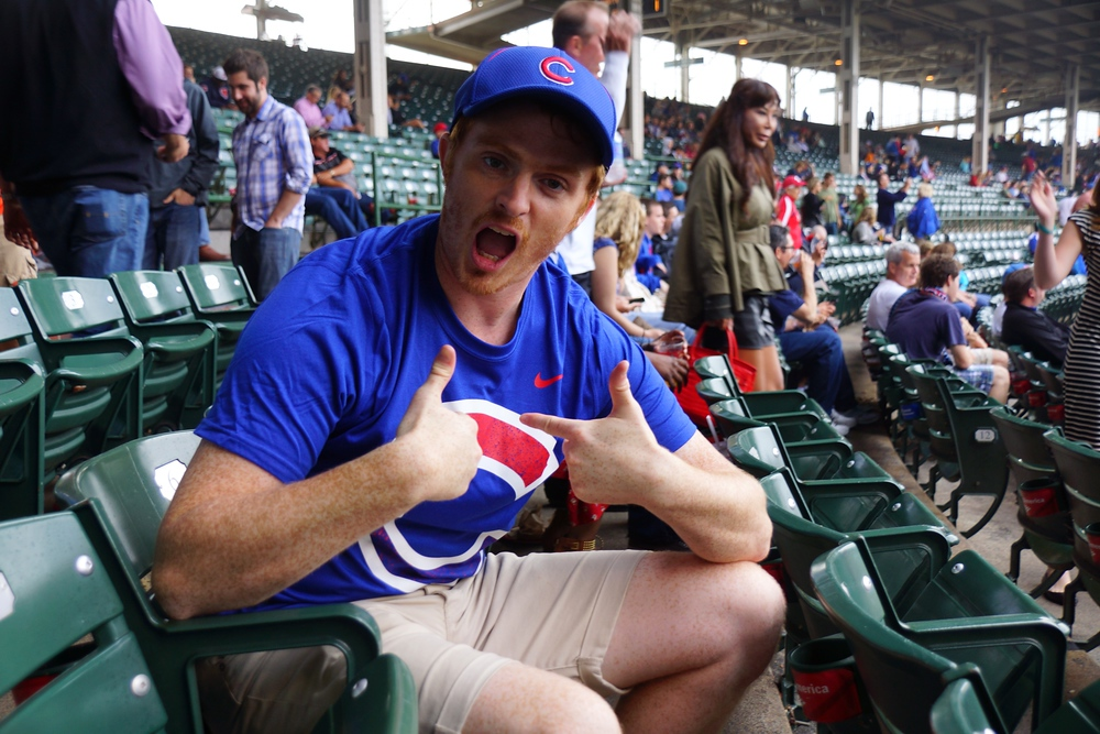 I'm a die hard Chicago Cubs baseball fan. Pity me!