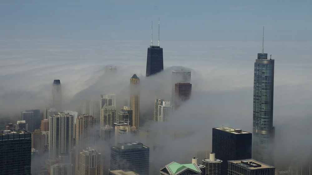 Daytime views from the Willis Tower formerly known as Sears Tower