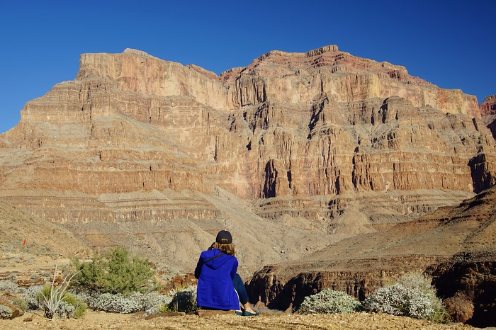 Seeing the Grand Canyon for the first time
