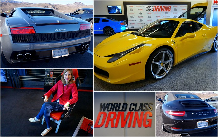 Driving luxury cars in Vegas with World Class Driving