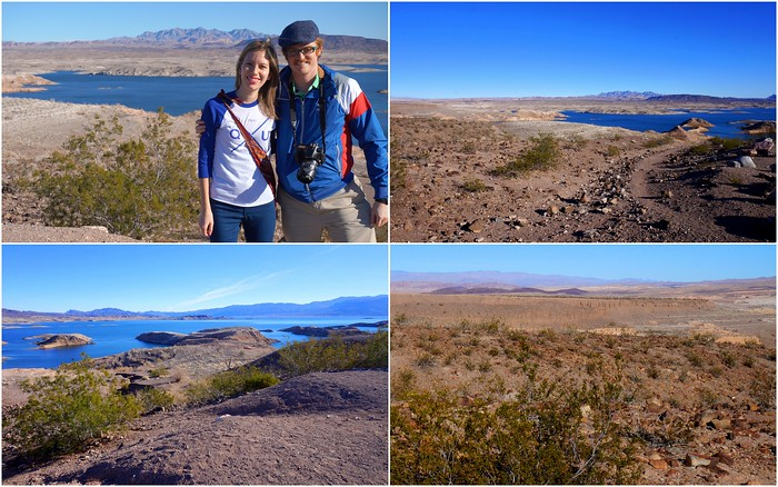 Scenic lookout point in Lake Mead