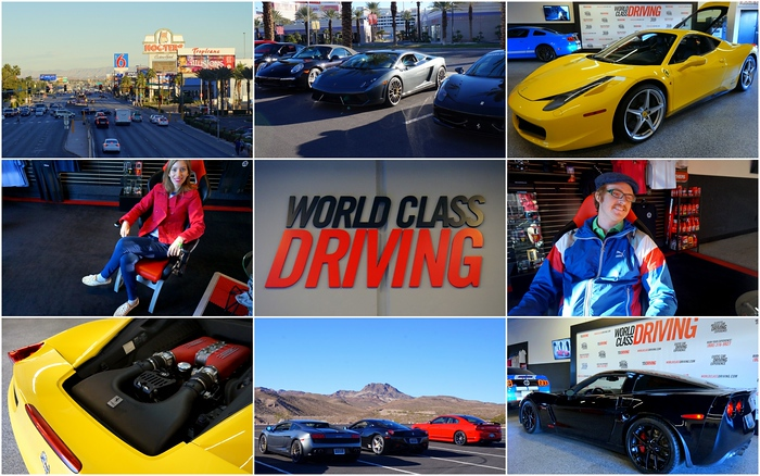 Luxury cars at World Class Driving