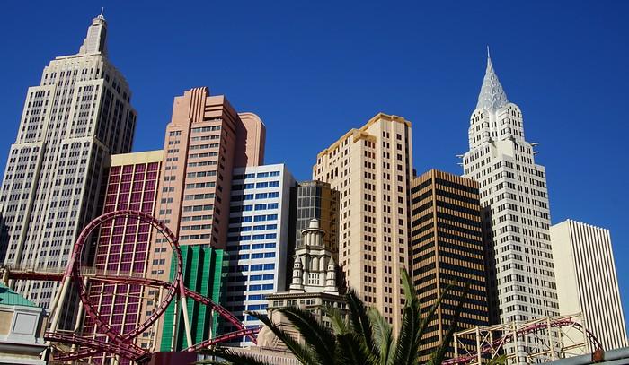 Las Vegas Strip during the day