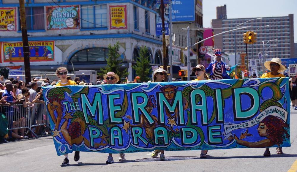 Coney Island Mermaid Parade in New York City