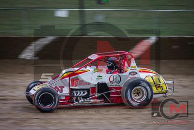 USAC Silver Crown Series, Eldora Speedway, 4 Crown Night 2, 9/26/15