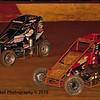 Bryan Clauson 63 and Brett Arndt 46