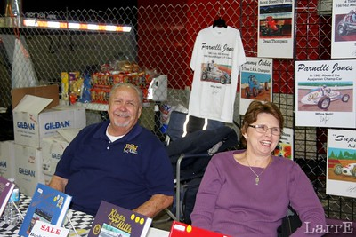 Buzz and his wife sell historic racing books..yes I bought one