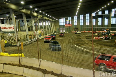 packer cars look huge on this little track