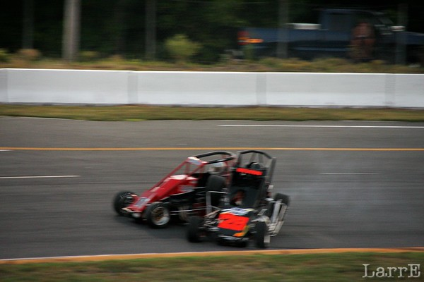 USAC FORD FOCUS MIDGET RACE , CONCORD, NC JULY 27, 2011