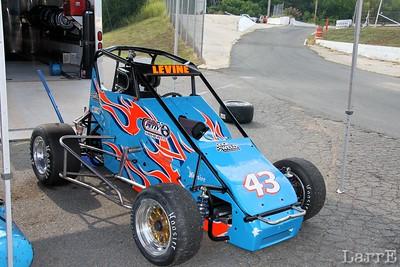 #43 David Levine has the Fedrizzi car