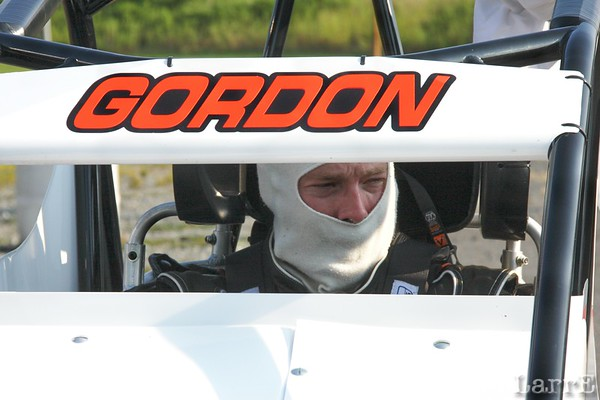 USAC Ford Focus midgets, Concord, NC Aug 17, 2011