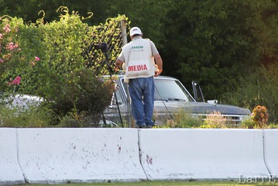 the media is always watching the track for action.....sorry John