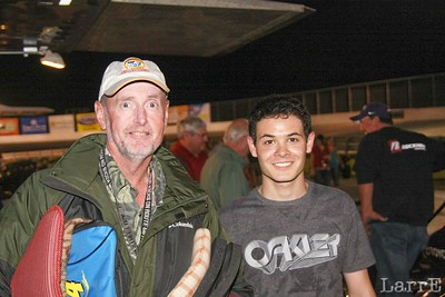 Ted Barnes and Kyle Larson