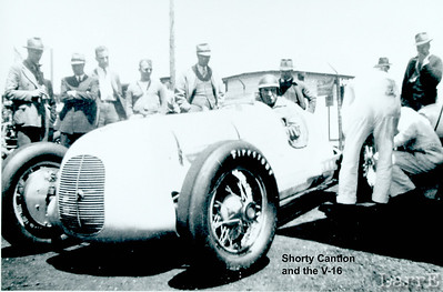 Shorty Cantlon in the V-16