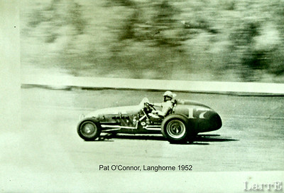 Pat O'conner in the Luts Offy at Langhorne May 1952