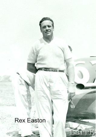 Rex Easton at the Detroit Mile, Jun 1957