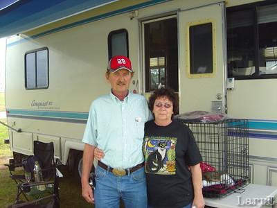 Nice folks from Benson, Minnesota... Allen and Loni Landmarkwere very kind to me