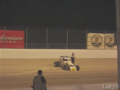 #95 Jerry Coons is out.