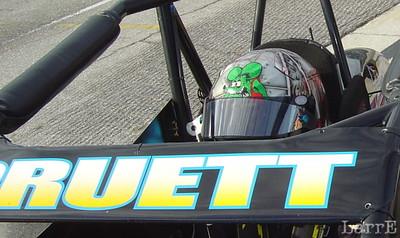 Alex Pruett's helmet