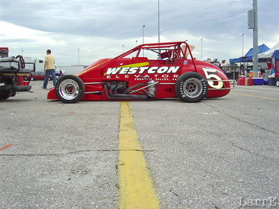 the #5 is driven by Jimmy Kite