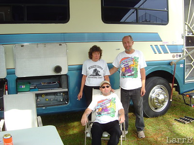 long time race fan George and JoAnn Timko and son Paul are from Ohio now living in Hudson, Florida.