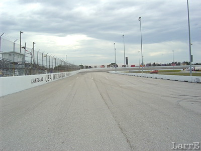 looking back to turn 2