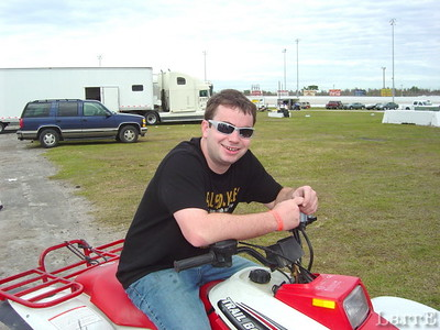 Bob East comes from the open wheel ranks, but is running with NASCAR too.
