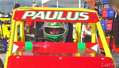 Brian Paulus finished 28th