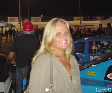 This is not just fluff ... She races sprint cars! Jessica Zemkie