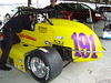 The USAC Silver Crown car of Wayne Reutimann