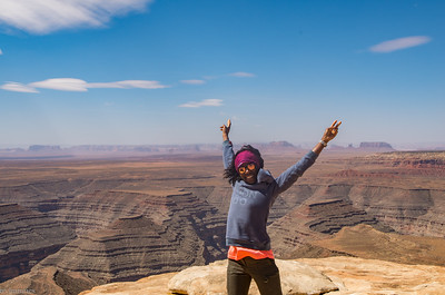 After Moki Dugway switchbacks: we made it!