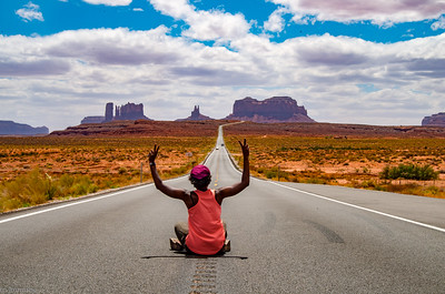 Monument Valley: Forrest Gump Point!
