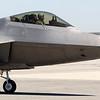USAF F-22 Raptor in Monterey