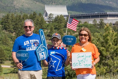 USAFA COLORADO PARENTS CLUB CLASS OF 2023 I-DAY PHOTO BOOTH 2019