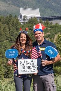 USAFA COLORADO PARENTS CLUB CLASS OF 2023 I-DAY PHOTO BOOTH 2019