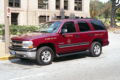 LAMBERT BATTALION 8  CHEVY TAHOE  RED