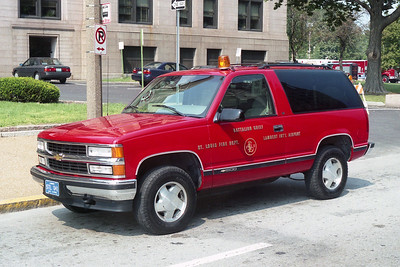 LAMBERT BATTALION CHIEF SPARE   CHEVY TAHOE  RED