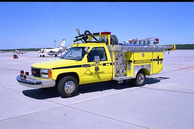 Myrtle Beach Jetport SC - Rescue 1 - 1992 GMC-E One 250-150-25F-450 PKP