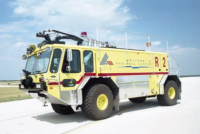 Abilene TX - Airport Rescue 2 - 2003 E One Titan 1250-1500-200F #25774