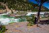 Kootenai Falls and Swinging Bridge