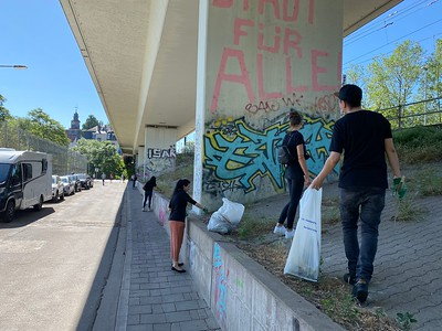 World Service Week 2021 - CleanUp Germany 3