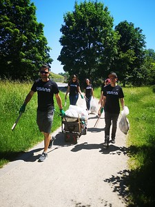 World Service Week 2021 - CleanUp Germany 6