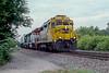 ATSF 2776 + EMD 205 + BN 2974 Lisle 30 July 1998