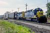 CSX 8334 + 8354 Dolton 28 July 1998