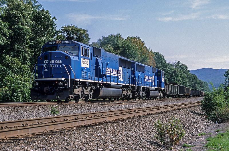 PRR 6753 + 6800 Cove 6- October 1999