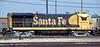 Santa Fe B23-7 6374 is at Topeka on 19 July 1998