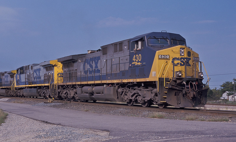 CSX 430 + 524 + 7361 Hamlet 6 October 2002