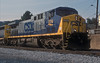 Part of a light engine move, CSX AC4400CW 274 is at Cumberland on 3 October 1999